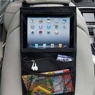 Soporte para tablet en el reposacabezas del asiento del coche