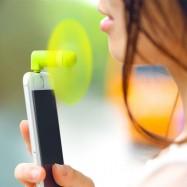 Ventilador micro USB para el móvil
