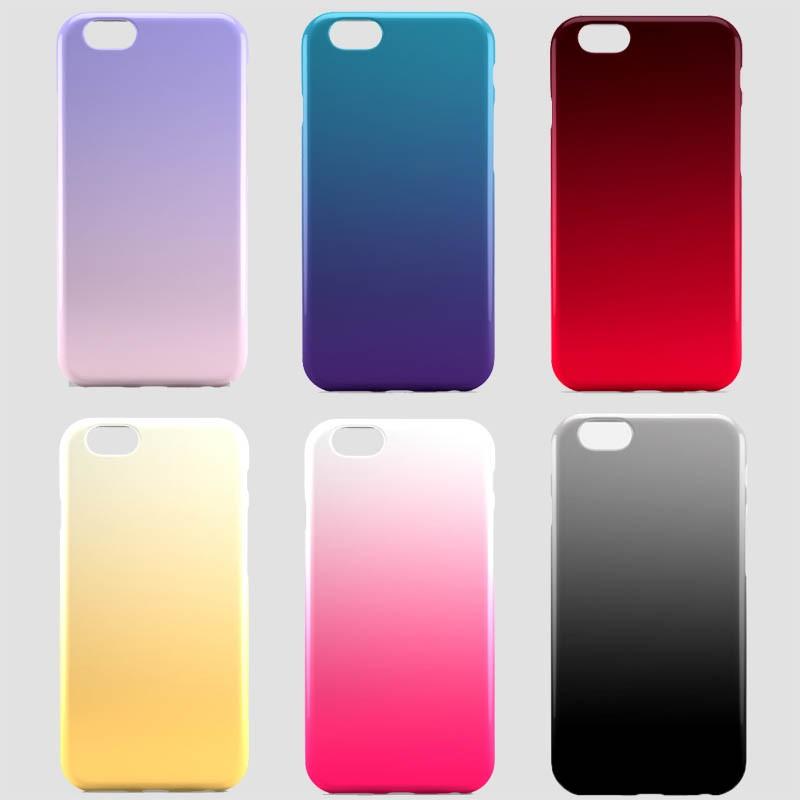 Fundas con degradados degradadas de colores para iPhone y Android