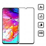 Protector de pantalla cristal templado 3D para Samsung Galaxy A70