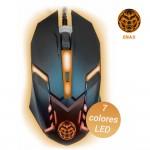 Ratón gaming Onaji con luz LED de 7 colores