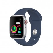 Correa Apple Watch series 1,2, 3 y 4 de silicona de colores 38 40 42 y 44mm