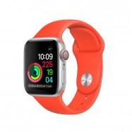 Correa Apple Watch series 1,2, 3 y 4 de silicona de colores 38 40 42 y 44mm