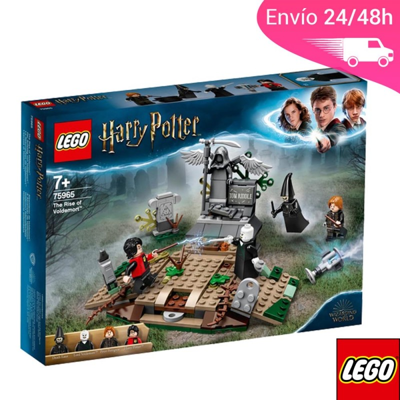 LEGO Lego Harry Potter enfrentamiento entre Voldemort y Harry.