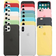 Fundas de Apple para iPhone 6 6s 7 8 X XS XR XS MAX 11 11 PRO 11 PRO MAX con logo silicona suave