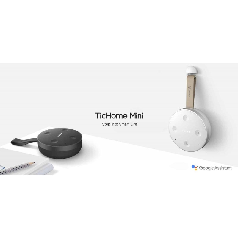 Google home altavoz inteligente Tichome Mini Mobvoi  IOS y Android
