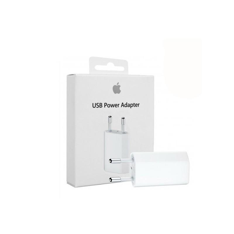 Cargador USB de pared de Apple original para carga de iPhone y iPad