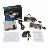 Consola retro tipo NES con 600 juegos arcade y dos mandos con conexión a TV