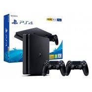 PS4 Consola Slim 1TB + 2...