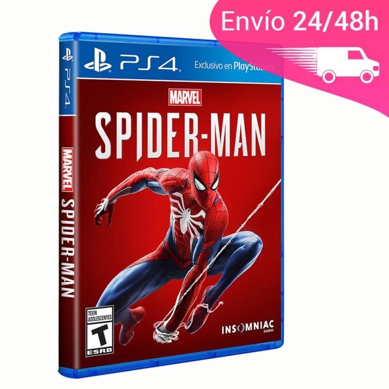 PS4 juego Marvel's Spider Man idioma e instrucciones en español