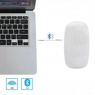 Ratón ultrafino inalámbrico bluetooth 3.0 color blanco para Apple Mac, Windows y Android