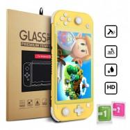 Protector de pantalla cristal templado premium anti arañazos y golpes para Nintendo Switch Lite