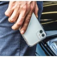 Funda doble de silicona transparente para iPhone 11 11 Pro 11 Pro Max carcasa delantera y trasera 360
