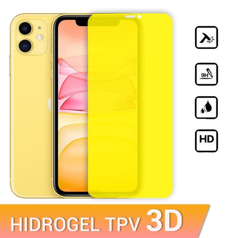 Protector de pantalla de hidrogel para iPhone 11 protección contra golpes, caídas y arañazos