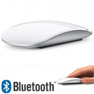 Ratón ultrafino inalámbrico bluetooth 3.0 color blanco para Apple Mac, Windows y Android