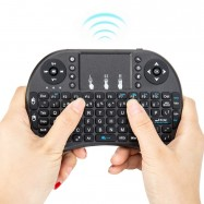 Teclado Smart TV Rii i8 con Touchpad Bluetooth mini teclado inalámbrico para consola