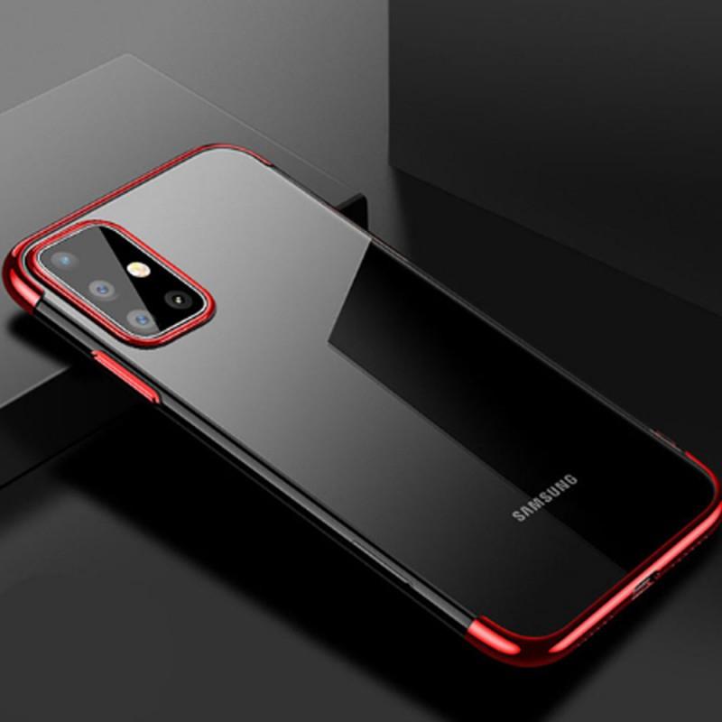 Funda de silicona transparente con bordes reforzados GEL TPU para Samsung Galaxy S20, S20+ y S20 ULTRA