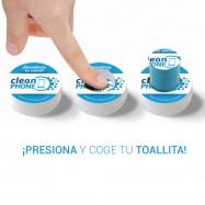 Toallitas y líquido desinfectante para móvil limpieza contra virus y bacterias incluido COVID-19