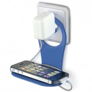 Soporte universal para cargador de pared compatible con todo tipo de smartphones