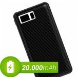 Powerbank batería externa de 20000 mah 4 USB