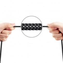 Cable trenzado nylon para carga rápida y datos de móvil o tablet conexión Micro USB Huawei, Xiaomi, Samsung