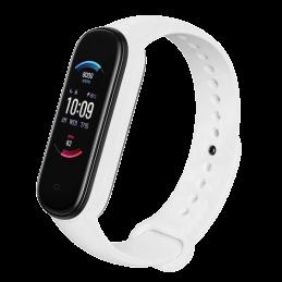 Correa de silicona flexible de colores para Amazfit Band 5 pulsera de recambio para smartband con Alexa incorporada