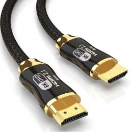 Cable HDMI ULTRA HD 8K 4K cable hdmi 2.1 1 metro 120Hz premium