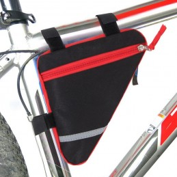 Bolsa para bicicleta bolsa alforja de bici para móvil llaves ajustable sillín