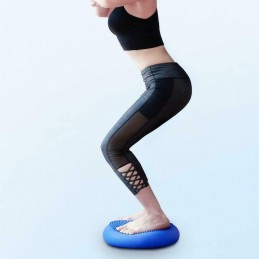 Cojín de equilibrio base almohadilla de yoga fitness pilates estabilidad CORE