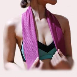 Toalla gimnasio enfriamiento instantáneo microfibras suave para deporte gym