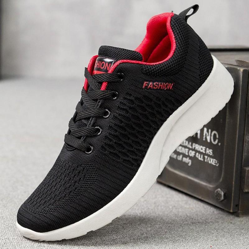 Zapatillas deportivas de tela para hombre estilo casual vestir y running gym