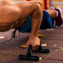 Soporte para flexiones entrenamiento pectorales espalda brazo push up