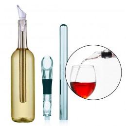 Enfriador de aluminio para botellas de vino barra enfriadora instantánea