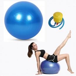 Balón de yoga y pilates inflable 55cm con inflador de pie incluido