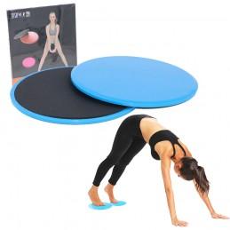 Discos deslizantes para fitness y yoga ejercicios abdominales y de piernas glúteos