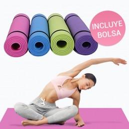 Esterilla colchoneta deportiva para yoga fitness y pilates