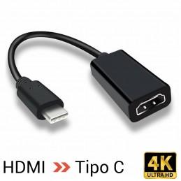 Conversor Cable Adaptador de HDMI Macho a USB TIPO C 4k 60hz