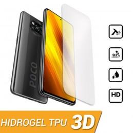 HIDROGEL PROTECTOR DE PANTALLA PARA XIAOMI POCO X3 NFC COBERTURA 3D