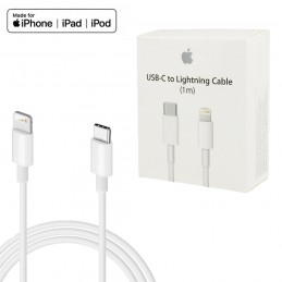 lightning original de Apple cable de carga de 1 metro para carga y datos de iPhone y iPad con conexión a USB-C