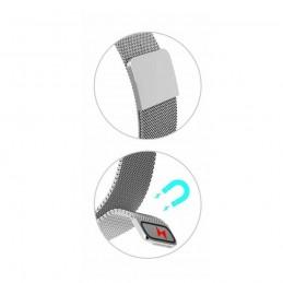 Correa pulsera de metal metálica de aleación de acero para Xiaomi Mi Band 5 repuesto recambio