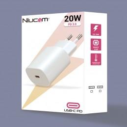 Cargador carga rapida para movil 20W conexión usb c pd USB tipo c para iPhone 12 11 conexion lightning a usb c