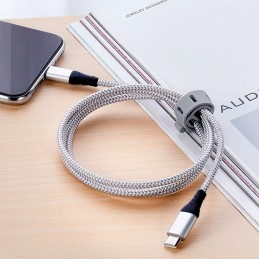 Cable lightning usb-c trenzado cable de carga rápida para iPhone 12 iPhone 12 pro transferencia datos