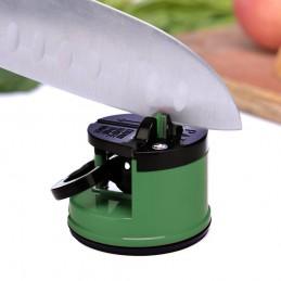 Afilador cuchillos con base antideslizante de ventosa