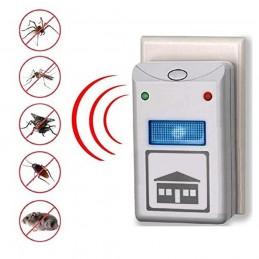 Repelente eléctrico insectos y roedores control plagas jardin y casa