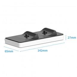 DOBE base de carga para dualsense mando ps5 playstation 5 estación de carga rápida portátil