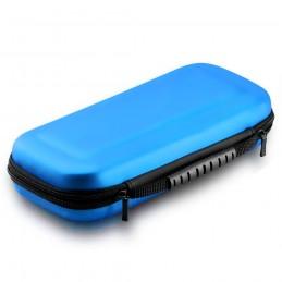 Funda protectora carcasa de transporte para Nintendo Switch maletín de viaje color azul