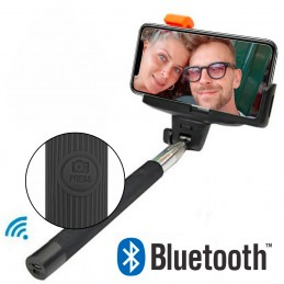 Palo selfie Bluetooth con disparador incorporado palo selfie para movil