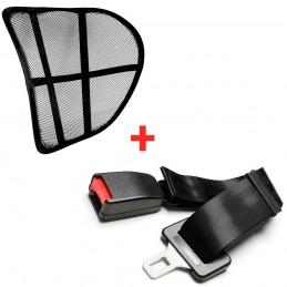 Respaldo lumbar para embarazadas  extensor de cinturón de seguridad