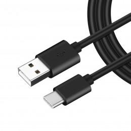 Cable usb tipo c de carga rápida para movil cargar y transferencia de datos para smartphone 1 metro