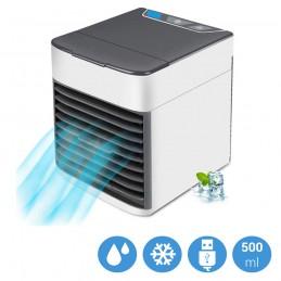 Aire acondicionado portátil humidificador enfriador y purificador